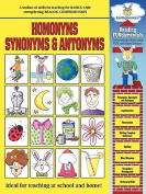 Barker Creek LL-1600 Homonyms - Synonyms and Antonyms Activity Book