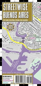 Streetwise Buenos Aires Map - Laminated City Center Street Map of Buenos Aires, Argentina