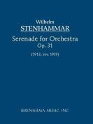Serenade, Op. 31 (1919 Revision) - Study Score