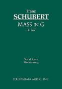 Mass in G, D. 167 - Vocal Score [LAT]
