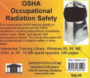 OSHA Occupational Radiation Safety