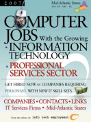 Computer Jobs with the Growing Information Technology Professional Services Sector [2007] Companies-Contacts-Links - IT Services Firms - Mid-Atlantic States