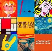 Modern Art Deluxe Memory Game