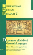 Dictionaries of Medieval Germanic Languages