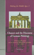 Chaucer and the Discourse of German Philology