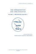 The Herbedestan and Nerangestan, Vol. IV