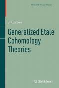 Generalized Etale Cohomology Theories