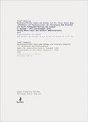 Josef Dabernig, Handschriftliche Kopien/Handwritten Copies...
