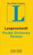 German Pocket Langenscheidt Dictionary