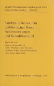 Sanskrit-Texte Aus Dem Buddhistischen Kanon [GER]
