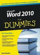 Word 2010 Fur Dummies [GER]