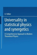 Universality in Statistical Physics and Synergetics [GER]