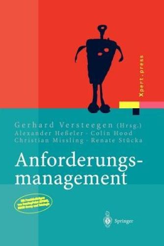 Anforderungsmanagement [GER] by Springer.