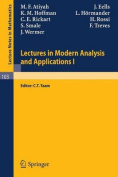 Lectures in Modern Analysis and Applications