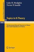 Topics in K-Theory