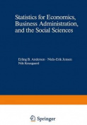 Statistics for Economics, Business Administration, and the Social Sciences