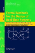 Formal Methods for the Design of Real-Time Systems