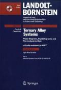 Selected Systems from Al-Si-Ti to Ni-Si-Ti (Landolt-Bornstein