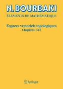 Espaces Vectoriels Topologiques [FRE]