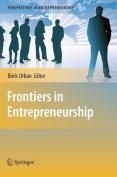 Frontiers in Entrepreneurship