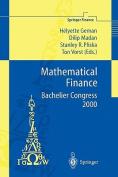 Mathematical Finance - Bachelier Congress 2000