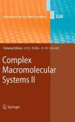 Complex Macromolecular Systems II