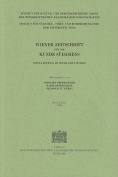 Wiener Zeitschrift Fur die Kunde Sudasiens/Vienna Journal Of South Asian Studies [GER]