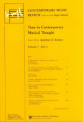Time in Contemporary Musical Thought