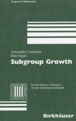 Subgroup Growth (Progress in Mathematics)