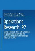 Operations Research '92