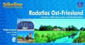 Ost-Friesland Radatlas Zwischen Oldenburg, Ems und Nordseekuste
