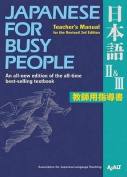 Japanese for Busy People II & III Teacher's Manual