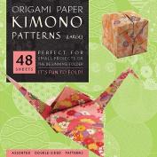 "Origami Paper Kimono Patterns Large 8 1/4"""