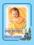 Baby Record and Photo Album