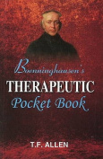 Boenninghausen's Therapeutic Pocket Book