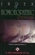 Index of Homoeopathic Provings