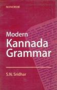 Modern Kannada Grammar
