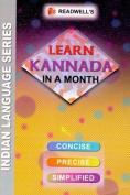 Learn Kannada in a Month - Script & Roman