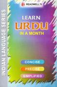 Learn Urdu in a Month