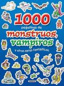 1000 Pegatinas de Monstruos, Vampiros y Otros Seres Fantasticos (1000  [Spanish]