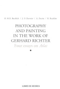 Photography and Painting in the Work of Gerhard Richter