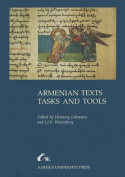 Armenian Texts, Tasks and Tools