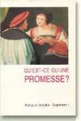 Qu'est-ce qu'une Promesse?
