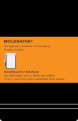 Moleskine Reporter Notebook, Pocket, Ruled, Black, Hard Cover