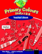 Primary Colours Italy 1-2-3 Teacher's Book