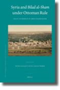 Syria and Bilad al-Sham under Ottoman Rule