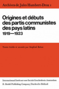 Archives De Jules Humbert-Droz, Volume I