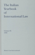 The Italian Yearbook of International Law