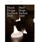 Dutch Design Jaarboek/Dutch Design Yearbook