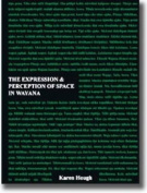 The Expression and Perception of Space in Wayana